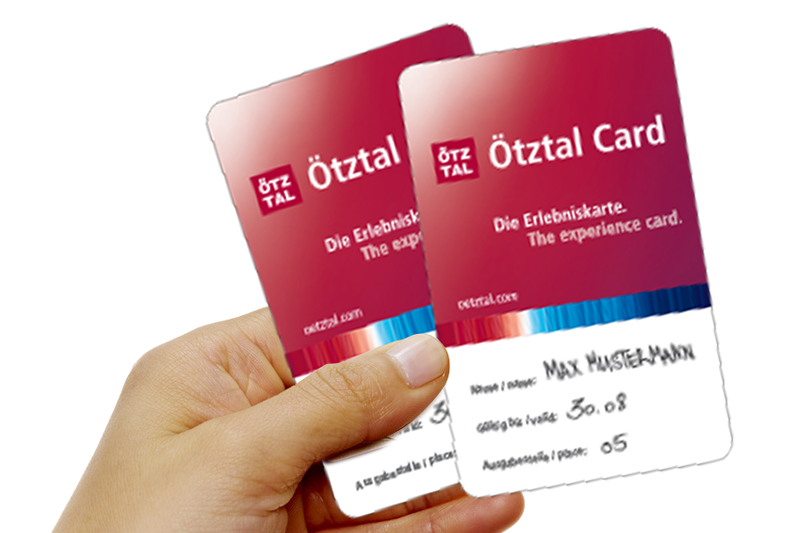 [Translate to Englisch:] Ötztal Card
